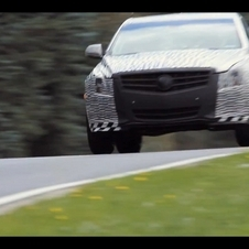Cadillac Continues to Tease ATS by Testing on Nuerburgring