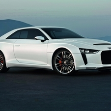 The original concept used the turbocharged five-cylinder from the TTRS