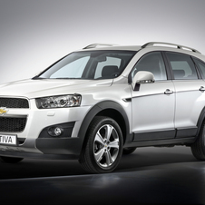 Chevrolet Captiva 2.2 163 hp FWD