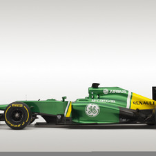 Caterham CT03