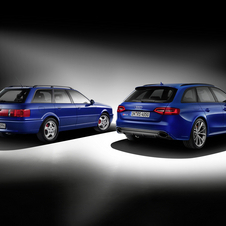 RS4 Avant Nogaro side-by-side with the Avant RS2