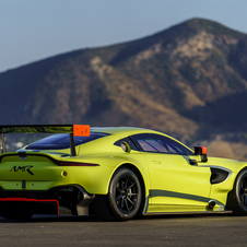 Veículo cumpre os regulamentos da FIA para a categoria GTE do WEC