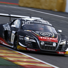 Audi also took a podium in the race