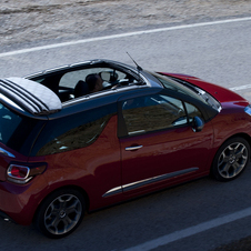 Citroën DS3 Cabrio 1.2 VTi CVM So Chic