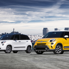 The 500L will have two models: a regular car and the Trekking