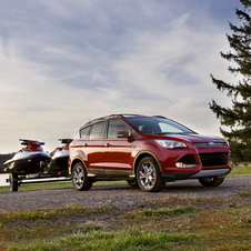 2013 Ford Escape All-Wheel Drive System Stops Skid Before It Happens