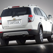 Chevrolet Captiva 2.2 184 hp FWD