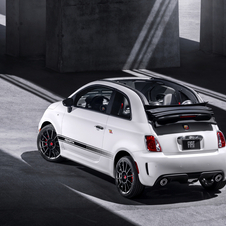 The Abarth 500C shares a lot with the standard Abarth