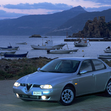 Alfa Romeo 156 2.0 JTS Selespeed Distinctive