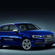 The A3 Sportback TCNG runs on natural gas and bio-methane
