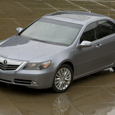 Acura RL with Technology Package