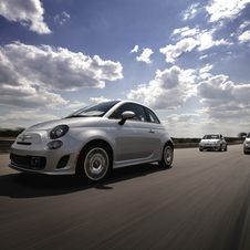 The car fits between the Abarth and standard 500 in the US lineup