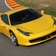 Ferrari introduced the 458 in 2009
