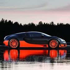 The Veyron is rumored to get a 1,600hp version as a finale.
