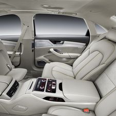 The interior gets upgraded with new materials and technology