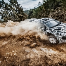 The car's major competition will be Volkswagen, which just won the WRC World Championship