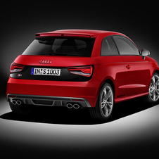 The two S versions get a distinctive look from the rest of the A1 model line