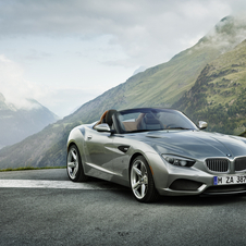BMW painted the car in liquid metallic paint that shifts color from dark grey to silver