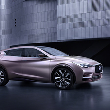 The Q30 will be shown as a concept at the Frankfurt Motor Show