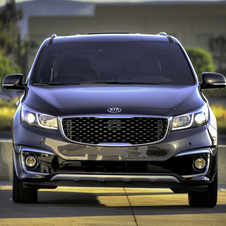 The new MPV generation will become the first car from Kia to offer its next-generation UVO infotainment and telematics system