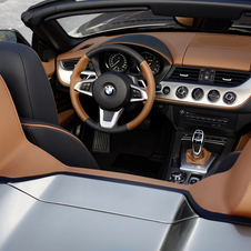 BMW added two-tone brown leather