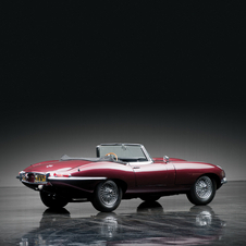 Jaguar E-Type 4.2 S1 OTS
