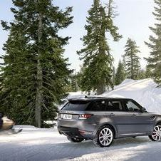 The Range Rover and Range Rover Sport have also been upgraded