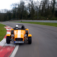 The Caterham 7 with the 175bhp engine is the perfect match.