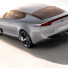 The concept used a turbo V6