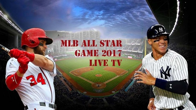 American League vs National League MLB All-Star Game Live MLB All Star Game 2017 Live