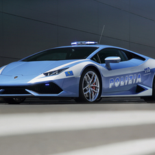 This time the Italian brand donated a car based on its latest model Huracán