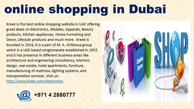 online shopping in dubai