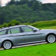 BMW 320d Touring EfficientDynamics (E91) LCI