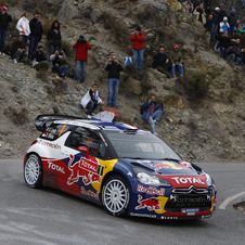 Counting his victory in Argentina, Loeb has won three events this season