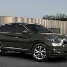 Infiniti JX Concept Shown at Pebble Beach Concours d'Elegance