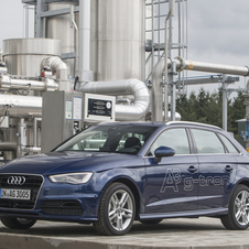 The A3 g-tron is the only car in the range that can use the fuel right now