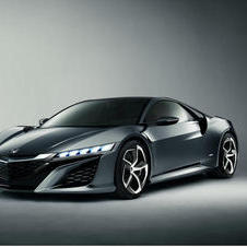 The latest NSX concept gets a new style in the rear