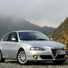 Alfa Romeo 147 1.6 Twin Spark Exclusive