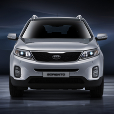 Kia added LED running lights with the refresh and new bumpers