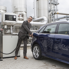 Buyers have to estimate their fuel use and tell Audi who will produce that much fuel to make the car's carbon neutral