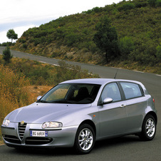 Alfa Romeo 147 1.6 Twin Spark Connect