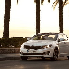 Kia Optima 1.7 CRDi ISG TX