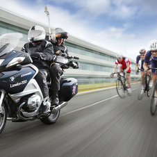 BMW is giving the Olympics 25 motorcycles for the cycling events