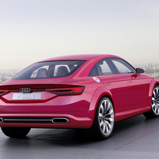 The TT Sportback is equipped with an improved version of the EA888 engine with 400hp and 450Nm of torque