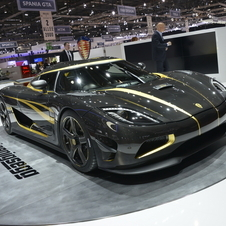 The car includes 24-karat gold inlayed into the carbon fiber