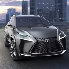 It will be used in many Lexus vehicles in the future but be introduced in the NX