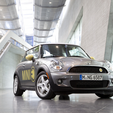 The Mini E has more range and power than the Active E. Six Hundred have been made.