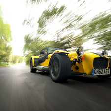 Until now Caterham has built two-seat sports cars
