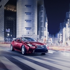 The RC is Lexus's sporty coupe and borrows a chassis and engines from the IS