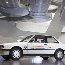 In the 80s, BMW worked created an electric 325iX to test